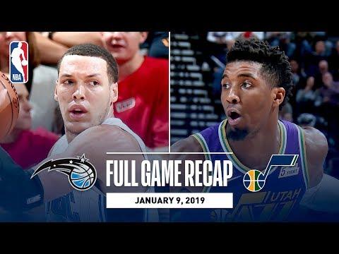 Full Game Recap: Magic vs Jazz | UTA Erases 21-Point Deficit