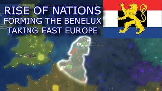 Forming The Benelux and Conquering East Europe (Rise of Nations) [Roblox]