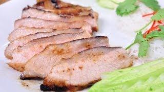 [thai Food] Kor Mu Yang Sang Som (roasted Whisky Pork)