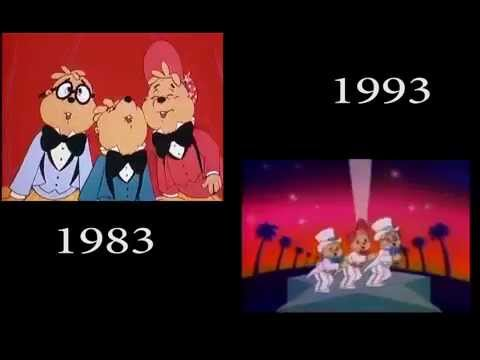 Alvin and the Chipmunks Intro Comparison