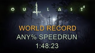 Outlast 2 Any% Speedrun 1:48:23 (1:52:24 with loads) (PC) (World Record)