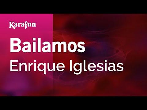 Karaoke Bailamos - Enrique Iglesias * mp3