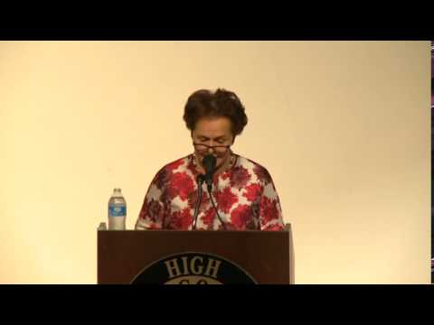 UNESCO Center for Peace Distinguished Speakers Series Lecture June 3, 2015  (Part 2)