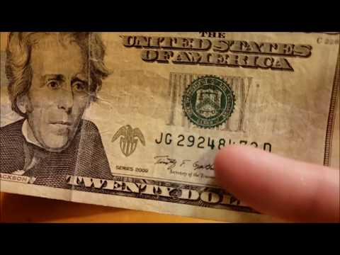 DOUBLE DATE NOTE FOUND - Searching For Rare Notes And Serial Numbers