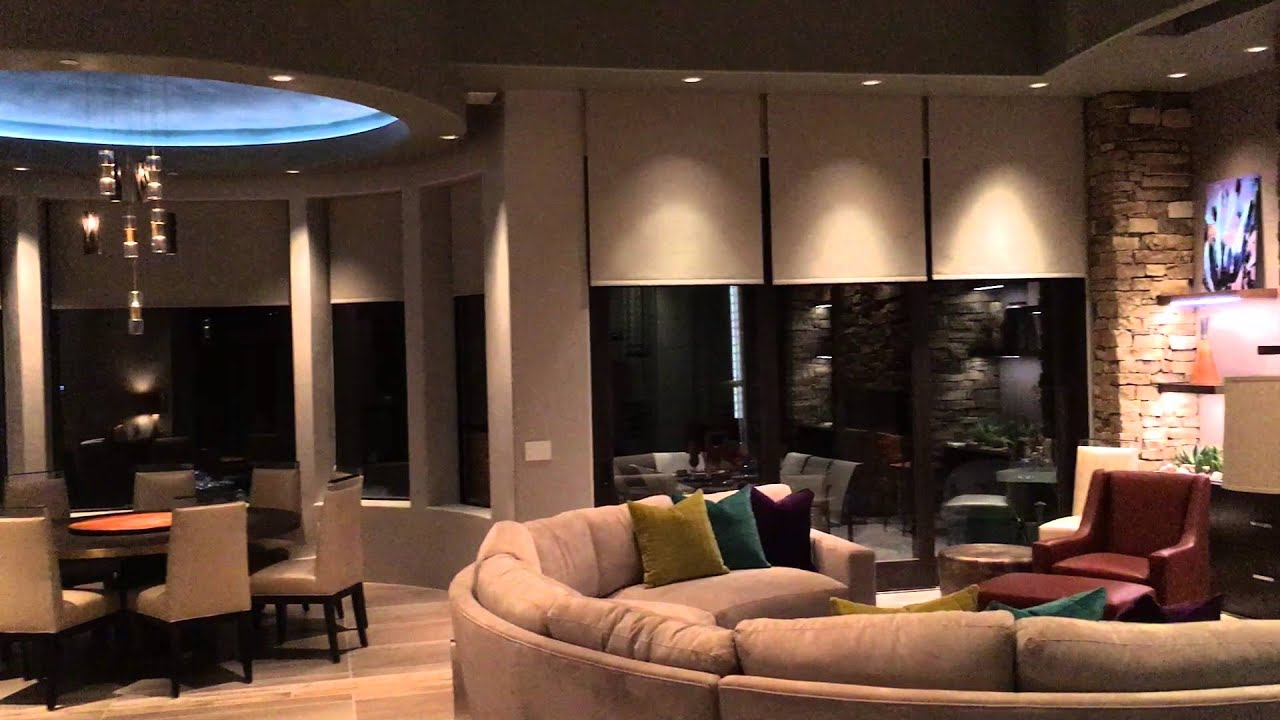 Lutron Homeworks QS Lighting & Shade Control - YouTube