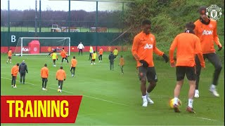Amad Diallo's first United training session! | Training | Liverpool v Manchester United