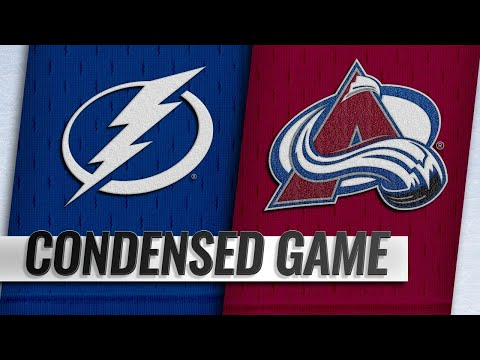 10/24/18 Condensed Game: Lightning @ Avalanche