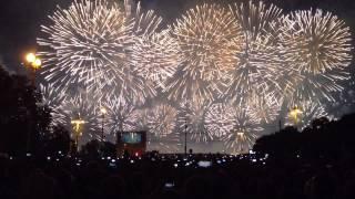Международный фестиваль фейерверков в Москве(Выступление Италии)