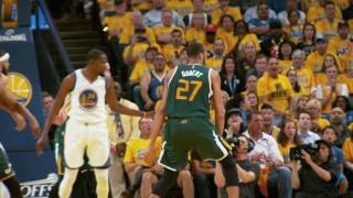 NBA Game Spotlight: Jazz at Warriors Game 1