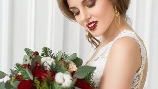 видео Образ невесты 2018 - тренды в макияже, прическе и выборе платья