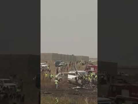 PLANE CRASH IN ABUJA