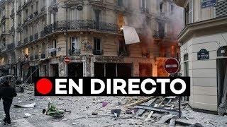 [EN DIRECTO] Fuerte explosión de gas en el centro de París