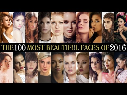 The 100 Most Beautiful Faces of 2016