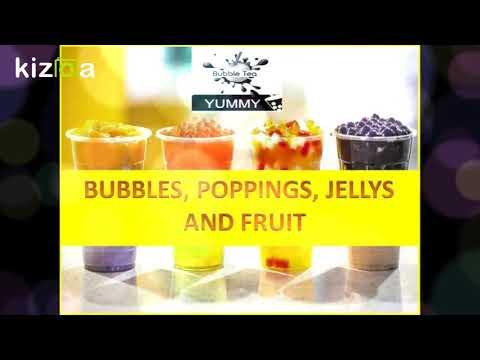 Kizoa Editar Vídeos - Movie Maker: YUMMY BUBBLE TEA INAGURACION
