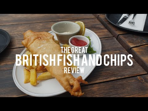 The Great British Fish And Chips  🍟 #6