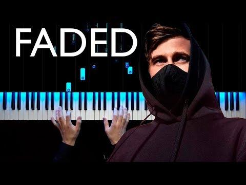 Alan Walker - Faded | Piano Cover | Sheets
