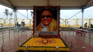 Kalaignar Karunanidhi Memorial marina beach | karunanidhi samadhi | kalaignar samadhi
