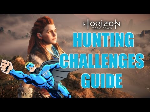 Horizon Zero Dawn Shock Trial Hunting Challenge Guide