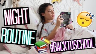 MY NIGHT ROUTINE for BACK TO SCHOOL / BACK TO WORK | Adriana Spink