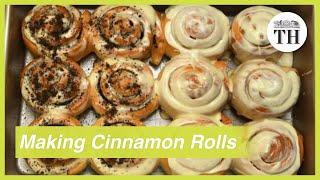 The art of making cinnamon rolls