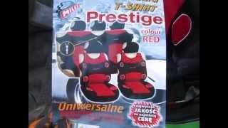 Видео обзор на автомобильные майки-чехлы польской фирмы MILEX модель Prestige
