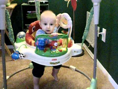 5c61f19d6 Fisher-Price Rainforest Jumperoo - YouTube