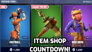 *New* Fortnite Baseball Skins! (Item Shop Countdown Live)