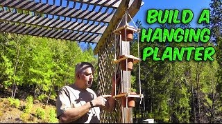 Build A Hanging 3 Tiered Rope Planter