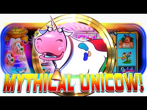 MAX BET UNICOW!!! MEGA WIN $$$ Invaders Return From The Planet Moolah Slots