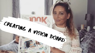 CREATING A VISION BOARD/ MANIFEST YOUR FUTURE - Tanya Louise