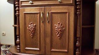 Мебель из натурального дуба. Массив дуба.(Мебель для дома. Furniture for home. Эксклюзивная мебель из натурального дерева, массив дуба. Ручная работа с элемен..., 2015-02-27T23:04:20.000Z)