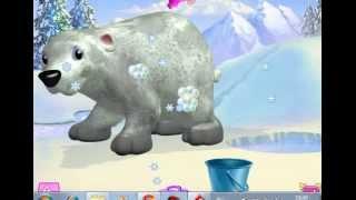 Уим Медвежёнка Прохождение игры Барби Парад зверюшек клуба Шелли