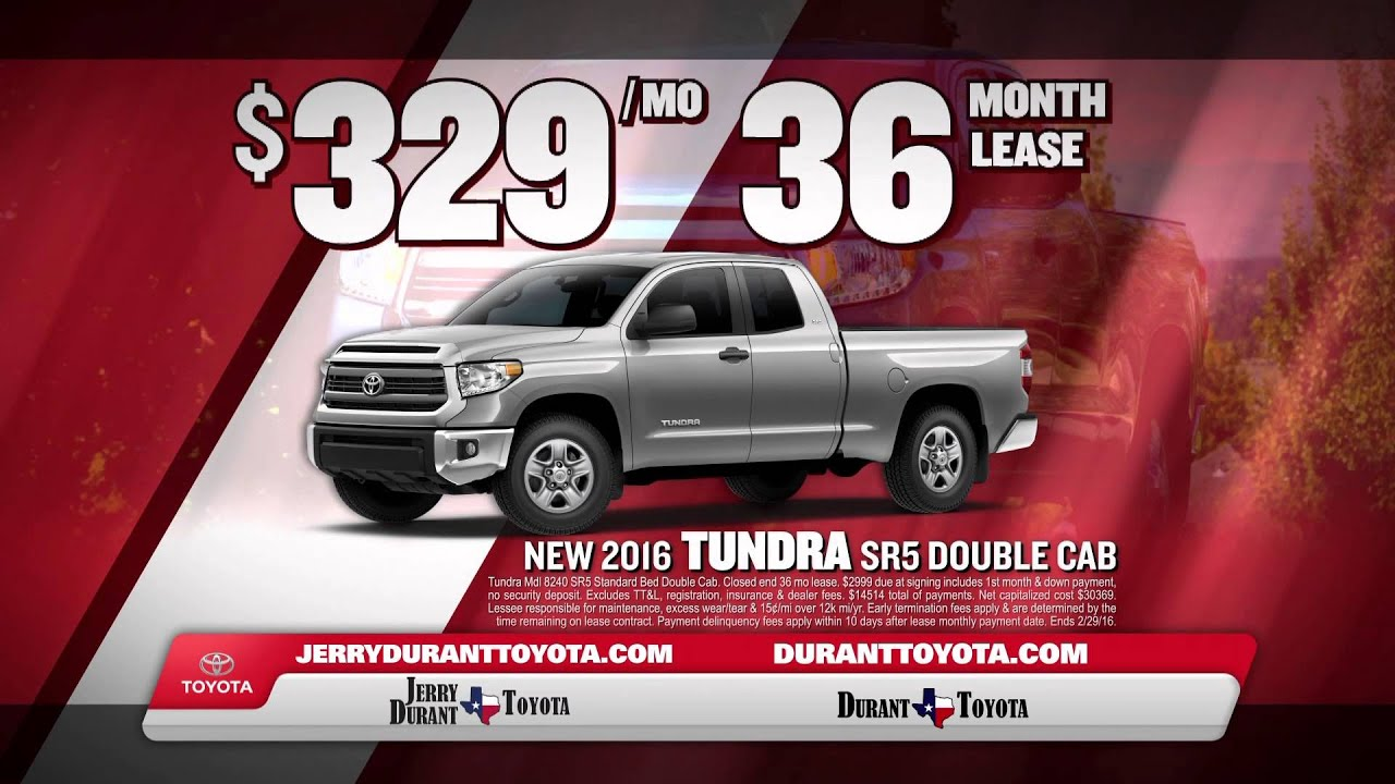 Jerry Durant Toyota Toyota Employees Car Specials
