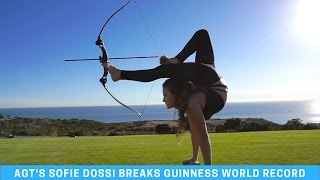 Sofie Dossi Breaks Guinness World Record!