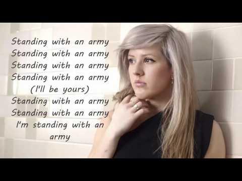 army - ellie goulding Lyrics HD