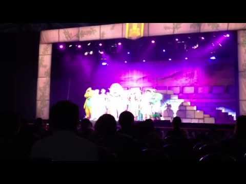 150312 i love u- Barney Musical Castle