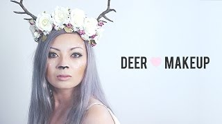 Deer Transformation Makeup Tutorial! Thumbnail