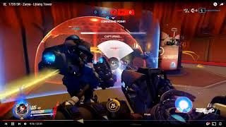 Silver PC Zarya Game Play In Depth Review by a Grand Master Zarya Main.  Lijiang. Part 1