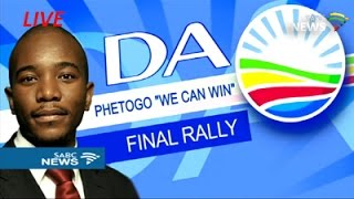 DA election rally in Dobsonville, Soweto - 30 July 2016