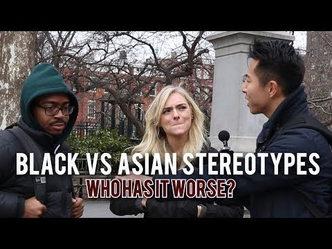 ASIAN vs BLACK STEREOTYPES