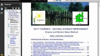 The Basics of Natural Eyesight Improvement - A Little Book for Fast Clear Vision - Paperback
