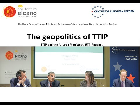 TTIP and the future of the West. #TTIPgeopol