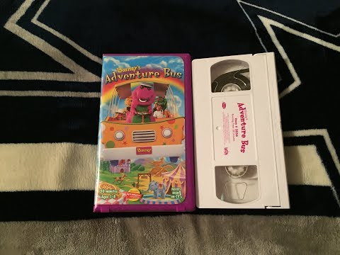 Opening & Closing To Barney's Adventure Bus 2000 VHS