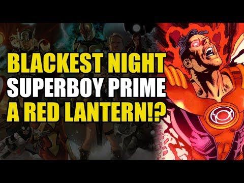 Superboy Prime Becomes A Red Lantern! (Blackest Night: Superboy Prime)
