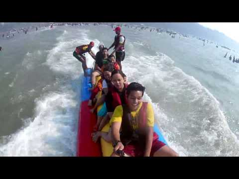 Alibaug beach | banana ride | enjoyment | visit the beach/gopro hero 4