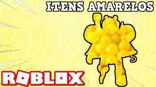 ROBLOX MAKING AVATAR ONLY WITH YELLOW ITEMS