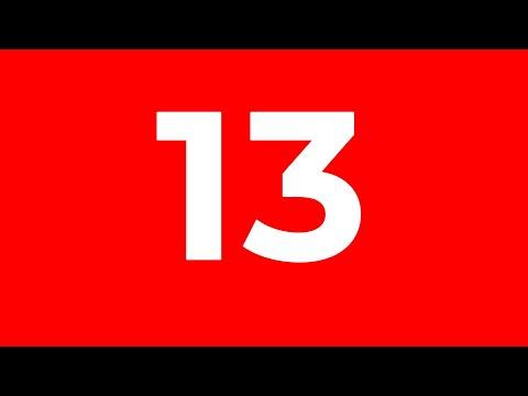 Jarang yang Sadar! Ini Misteri & Fakta yang Menyelimuti Angka 13 #YtCrash