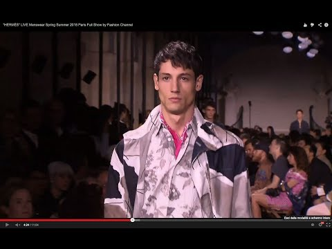"""HERMÈS"" LIVE Menswear Spring Summer 2015 Paris Full Show by Fashion Channel"
