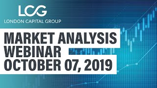 Market Analysis Webinar (October 7, 2019)