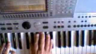 Brazilian Like - Trying Michel Petruccianis Grooving Left Hand - Tiny Exercise - Etude 2.WMV